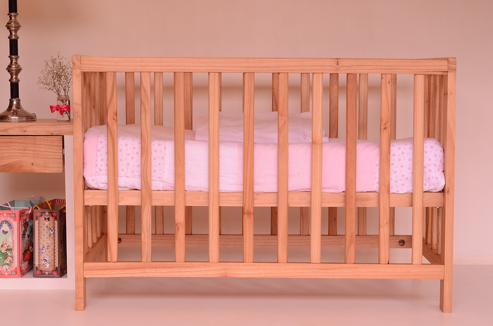 The crib should not contain toys, blankets, and pillows that may cause suffocation.