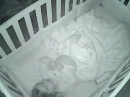 They thought Sutton was asleep when they heard noises upstairs. [Image Credit: Kathryn Whitt / Facebook]