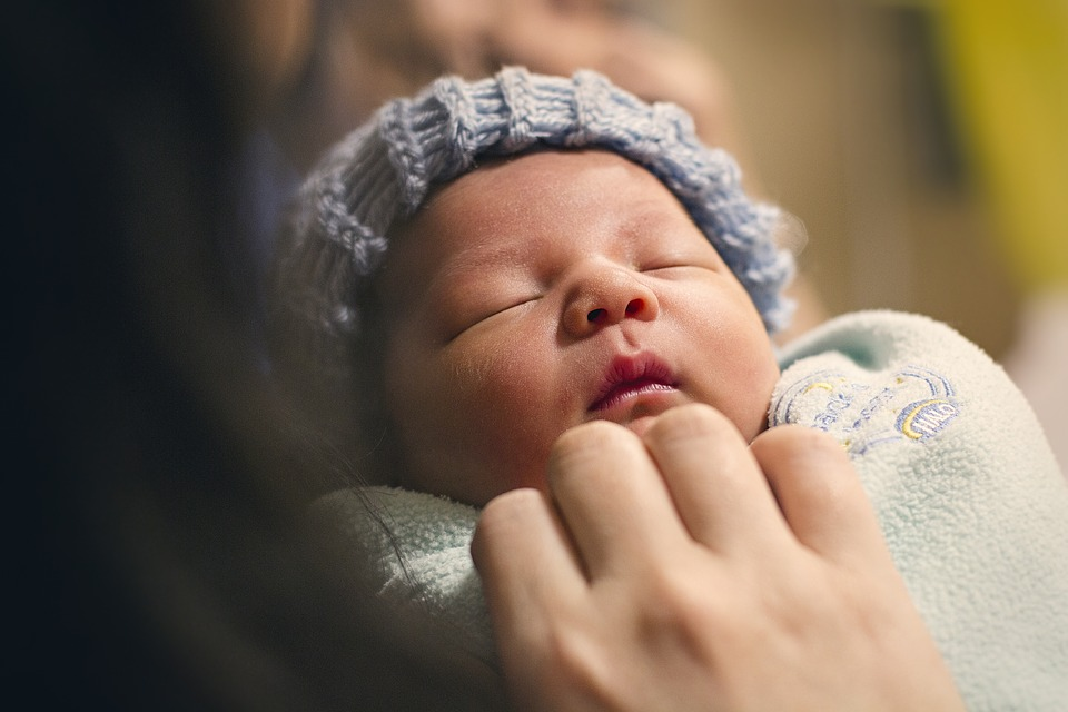 Newborn babies are more at risk to diseases and death due to suffocation.